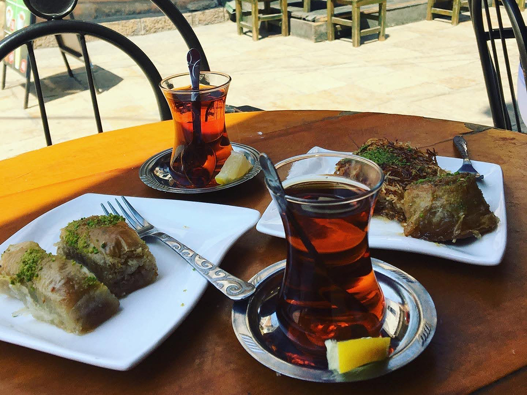 baklava and other turkish sweets